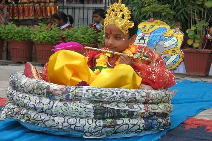 M K Dav Public School-Krishnastami Celebrations