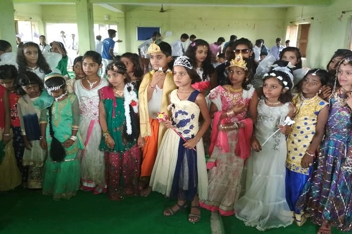 Manjula Sharma Memorial Academy-Fancy Dress Competition