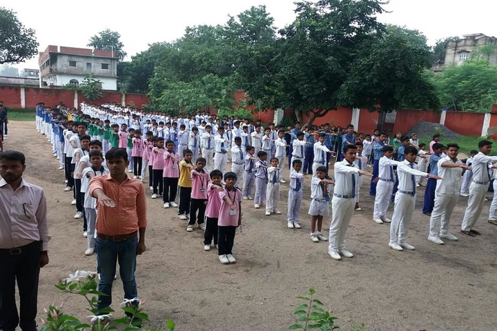 Manjula Sharma Memorial Academy-Morning Assembly