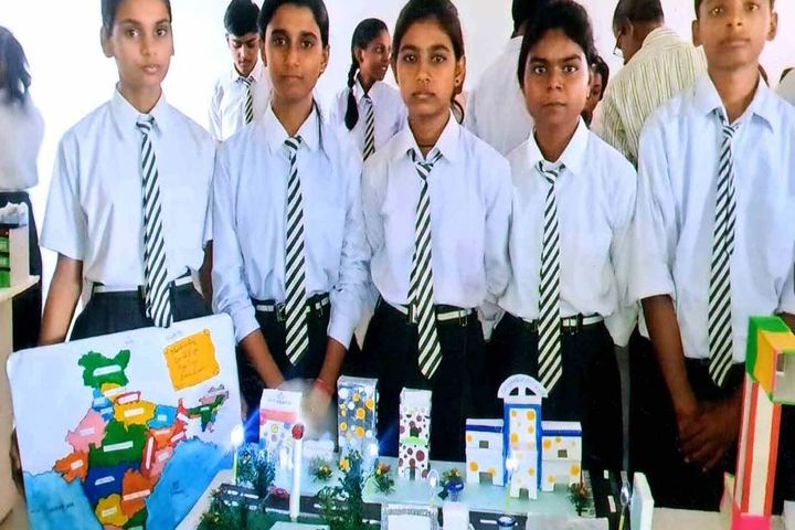 Manjula Sharma Memorial Academy-School Exhibition