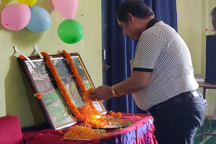 Manjula Sharma Memorial Academy-Teachers Day