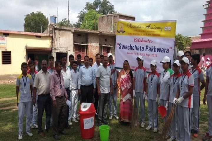 Meridian Academy-Swatchata Pakhwara Activity