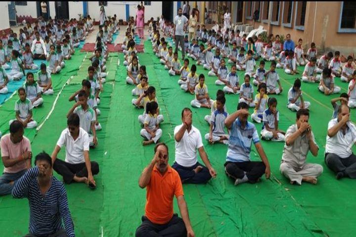Meridian Academy-Yoga Activity