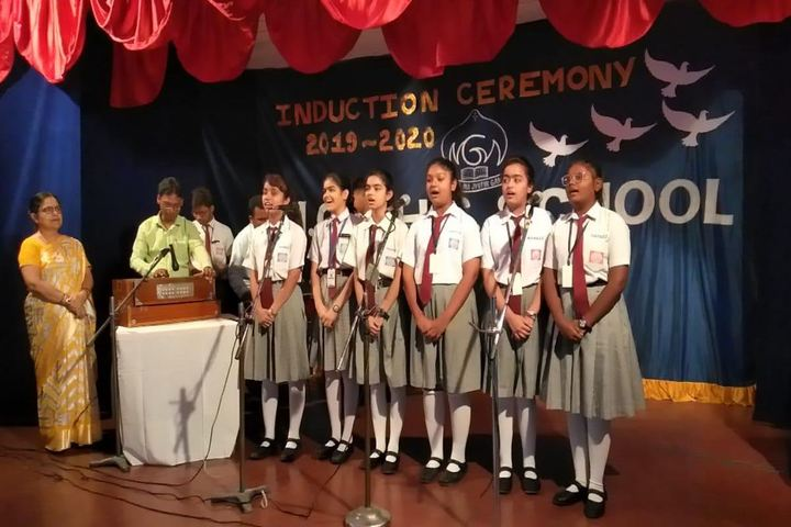 Mgm Higher Secondary School-Induction Ceremony