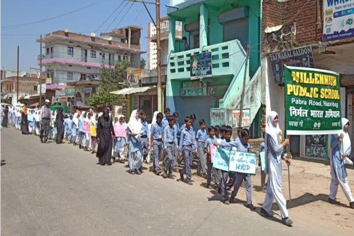 Millennium Public School-Clean India Campaign