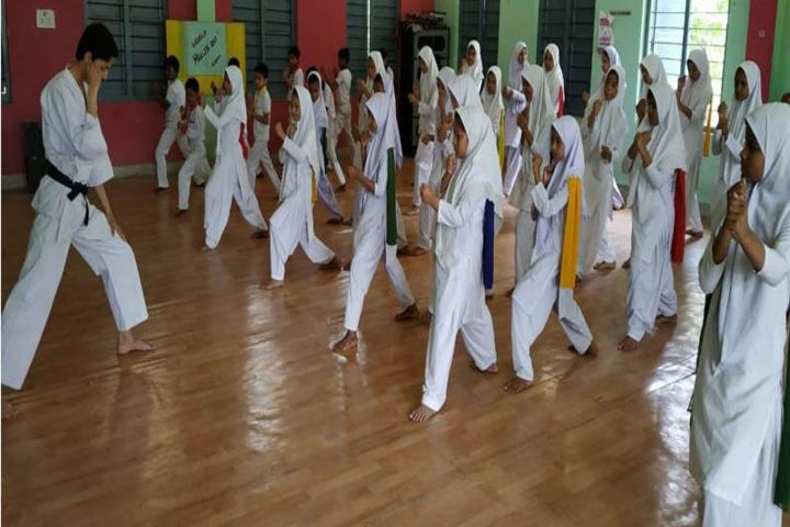 Millennium Public School-Karate
