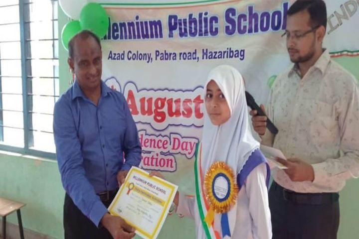 Millennium Public School-Prize Distribution