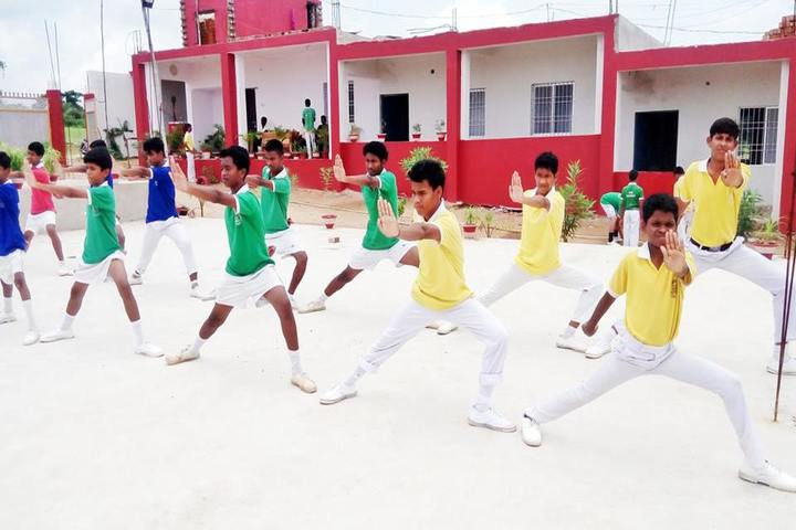Mothers International School-Karate Activity