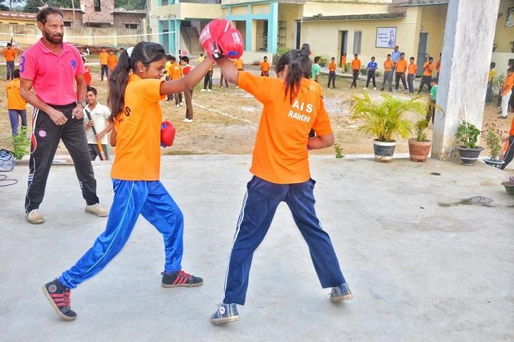 Mothers International School-Boxing Activity