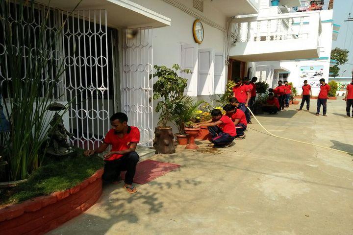 Mount Egmont School-Gardening Activity