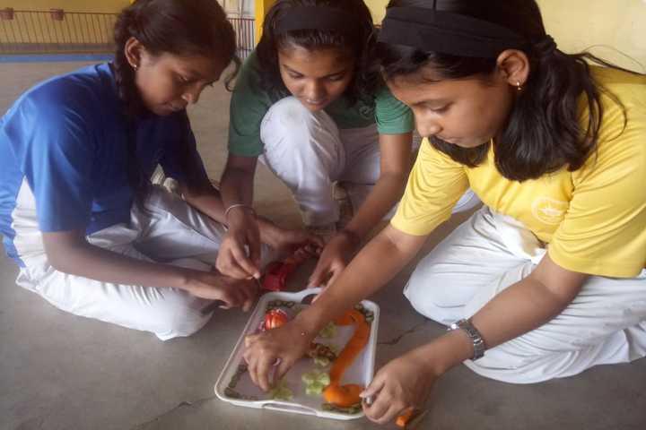 Mount Litera Zee School-Food Decoration Competition