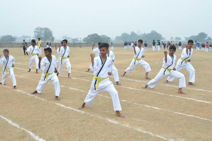 Mount Litera Zee School-Karate