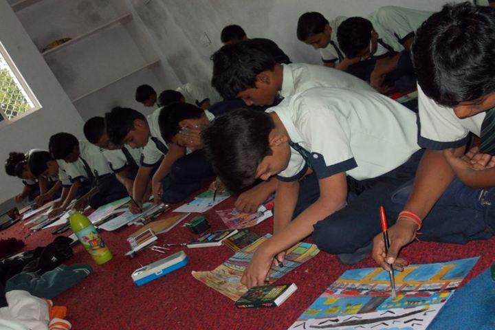 Mount Litera Zee School-Drawing Activity