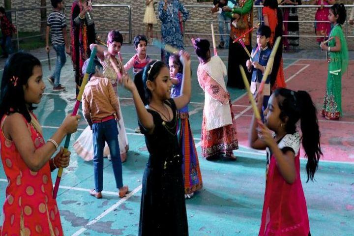 Mount Litera Zee School-Dandiya