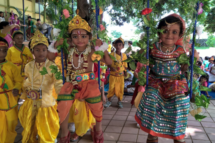 Nirja Sahay Dav Public School-Krishnastami Celebrations