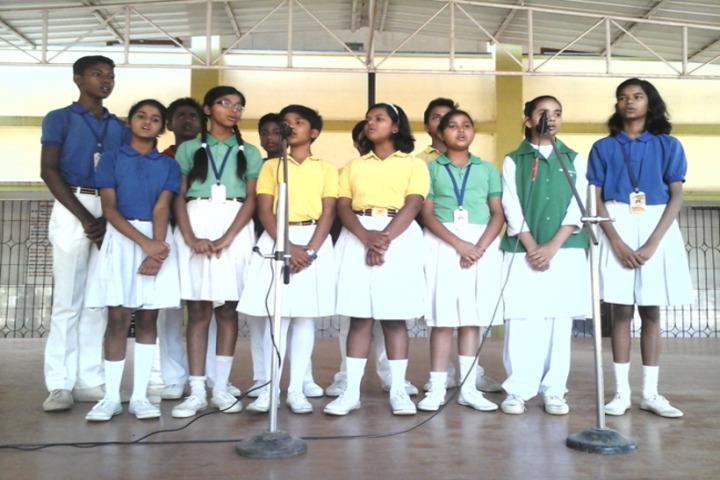 Nirja Sahay Dav Public School-Singing Competition