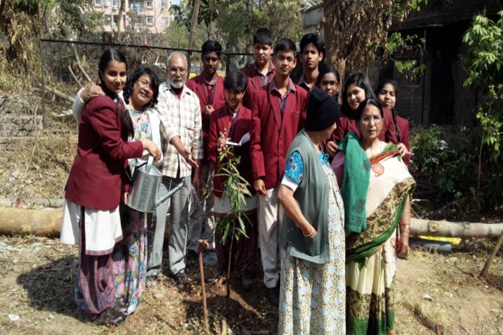 Nirja Sahay Dav Public School-Tree Plantation Activity