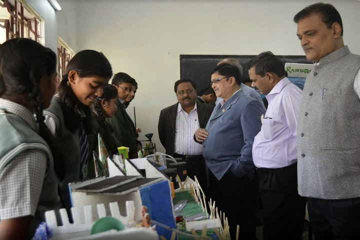 O P Jindal School-Science Exhibition