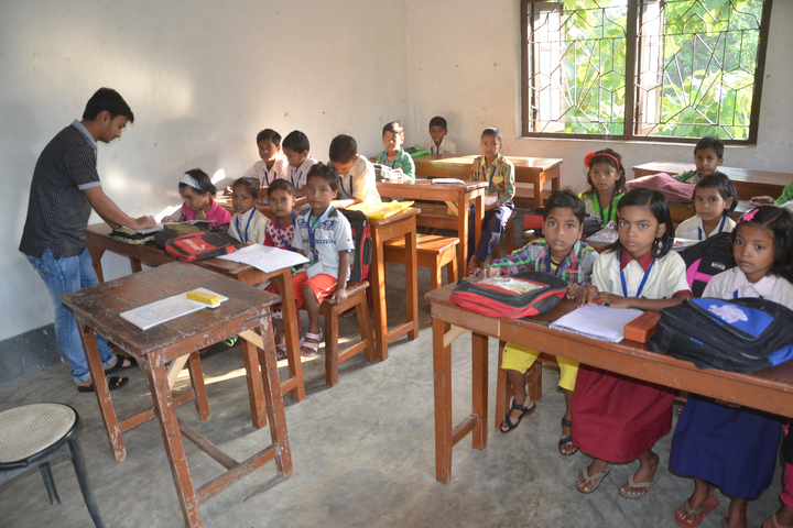 Ramakrishna Mission Vidyapith-Classroom