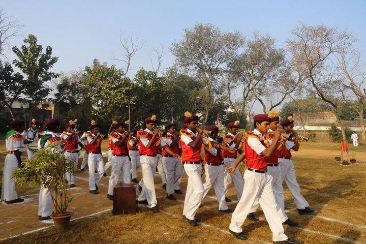 Ramakrishna Mission Vidyapith-Band Troop