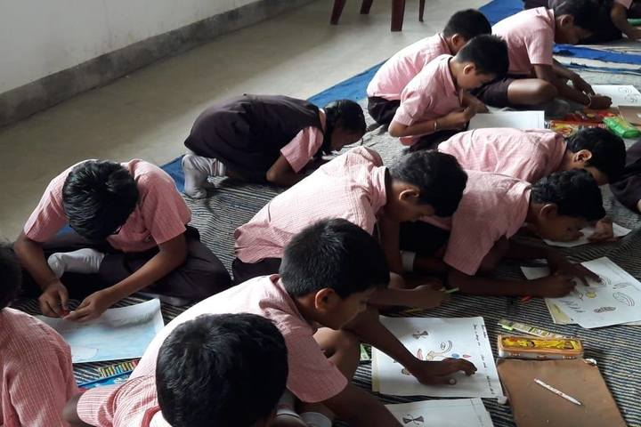 S D Public School-Drawing Competition
