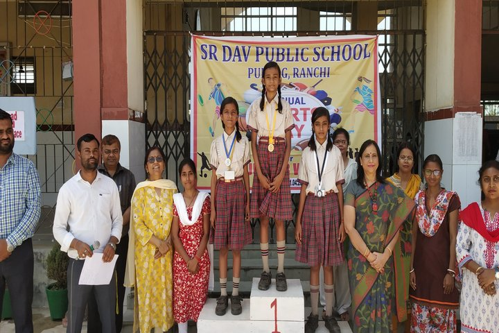 SR Dav Public School-Achievements