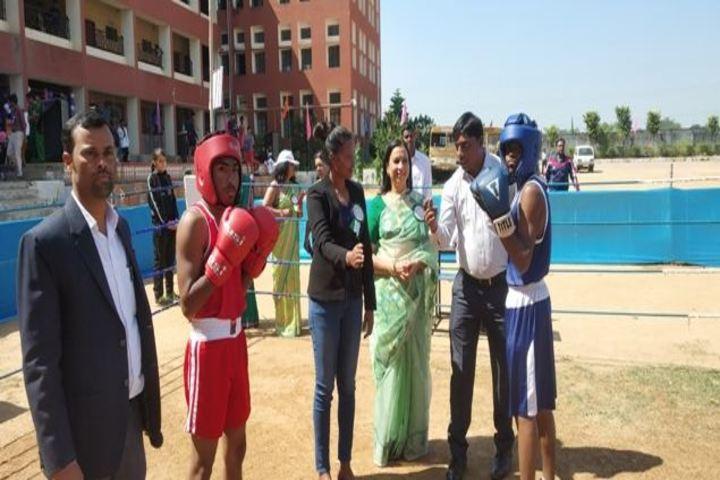 SR Dav Public School-Annual Sports Meet