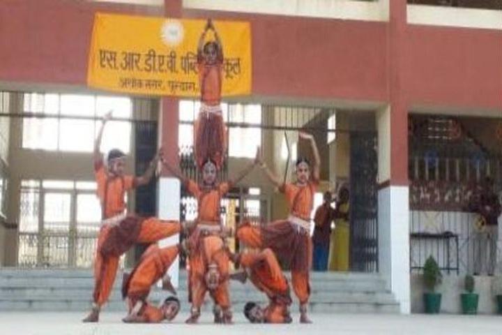 SR Dav Public School-Cultural Programme
