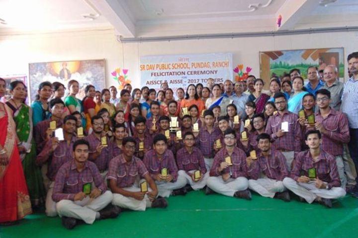 SR Dav Public School-Falecitation Ceremony