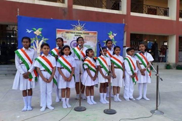 SR Dav Public School-Independence Day