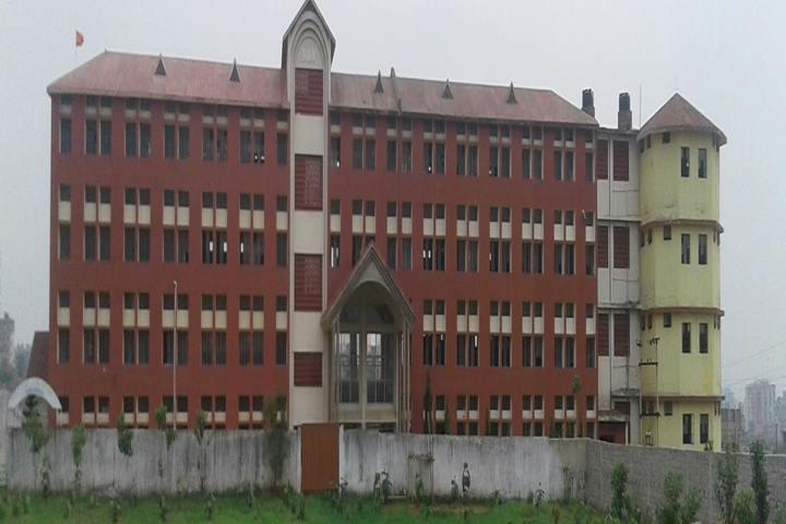 SR Dav Public School-School Building