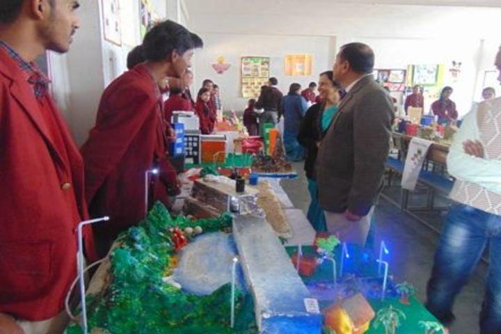 SR Dav Public School-Science Exhibition