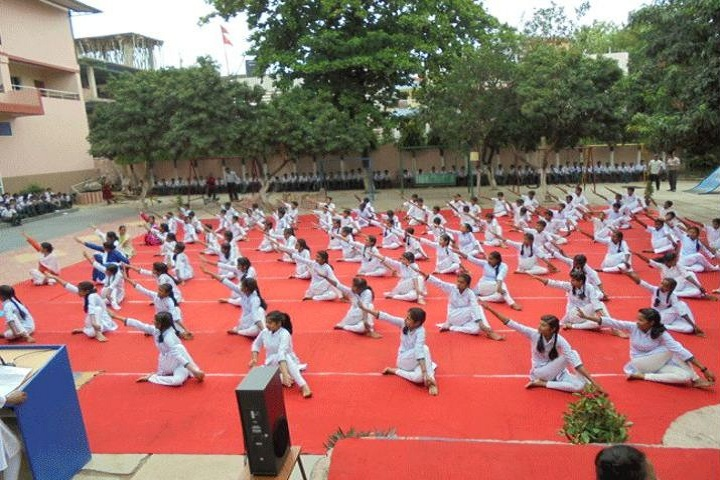 Sachidanand Gyan Bharti Model School-International Yoga Day