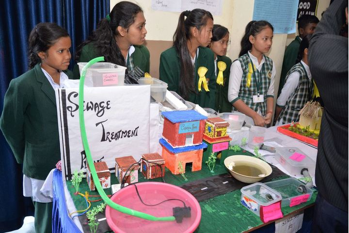 Sachidanand Gyan Bharti Model School-Science Exhibition