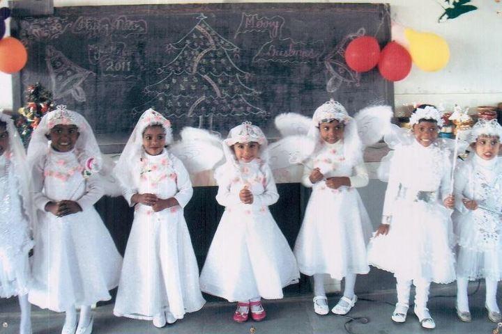 Sachidanand Gyan Bharti Model School-Christmas Celebrations