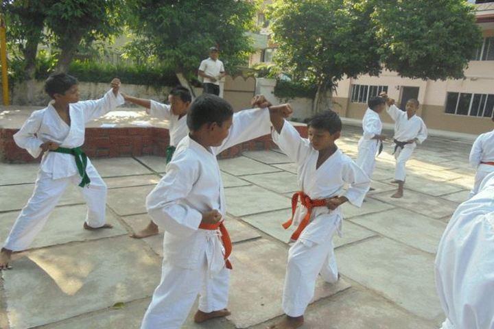 Sachidanand Gyan Bharti Model School-Karate Activity