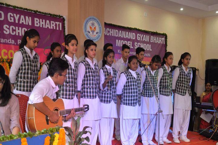 Sachidanand Gyan Bharti Model School-Singing Competition