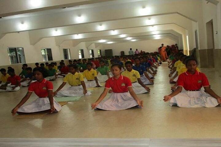 Sacred Heart School-International Yoga Day