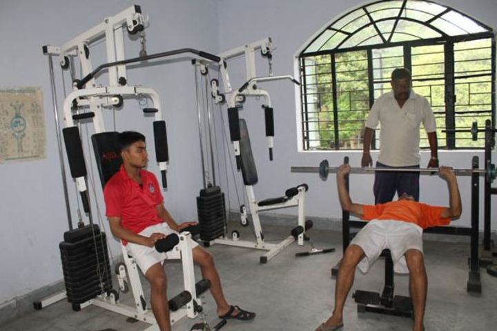 Sainik School-Gym Facility