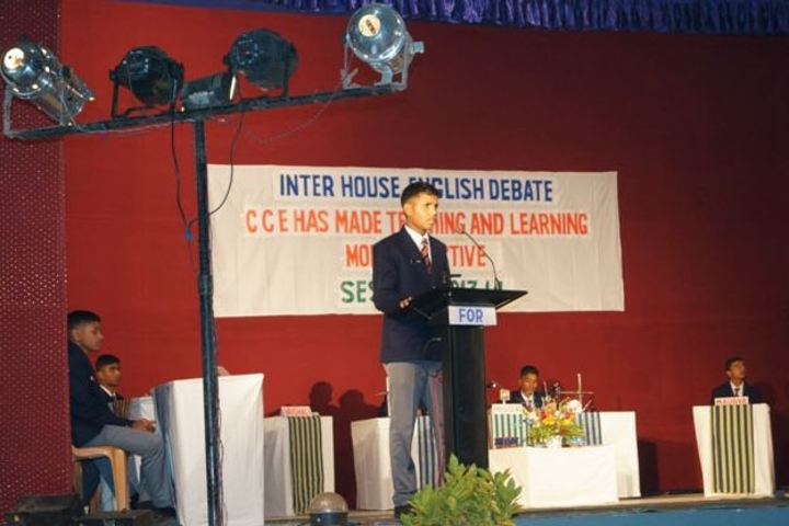 Sainik School-Inter House Debate Competition