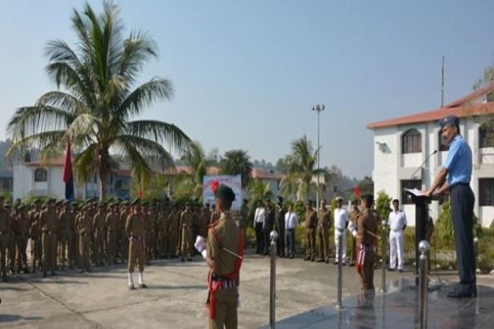 Sainik School-Morning Assembly