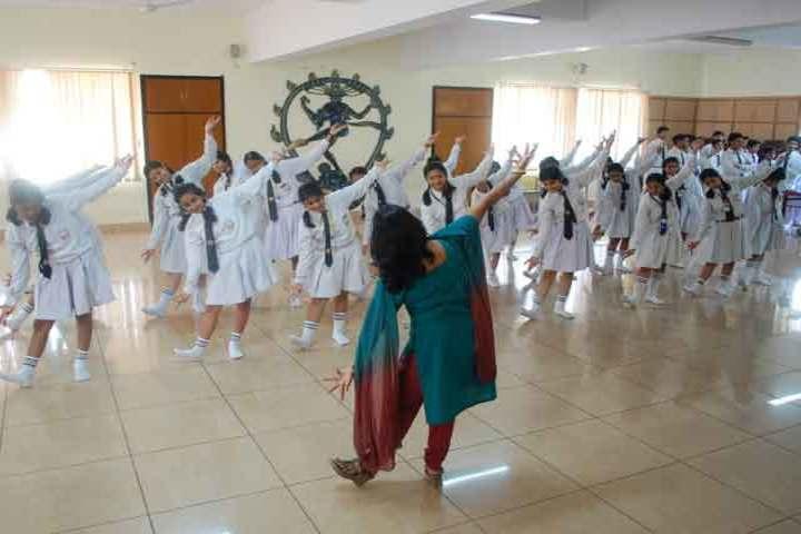 Sarala Birla Public School-Dancing Activity