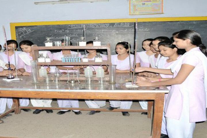 Saraswati Shishu Mandir-chemsitry Lab
