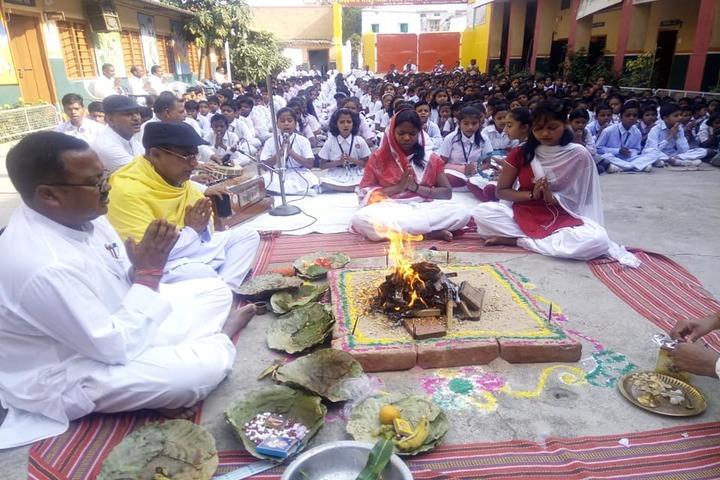 Saraswati Vidya Mandir High School-Spiritual Lab