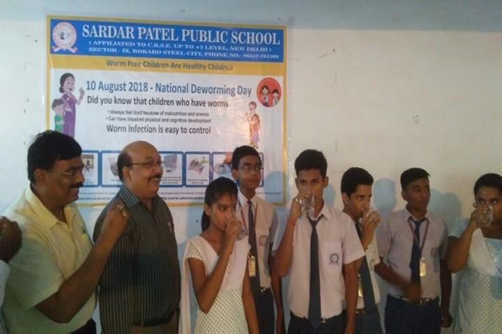 Sardar Patel Public School-National Deworming Day