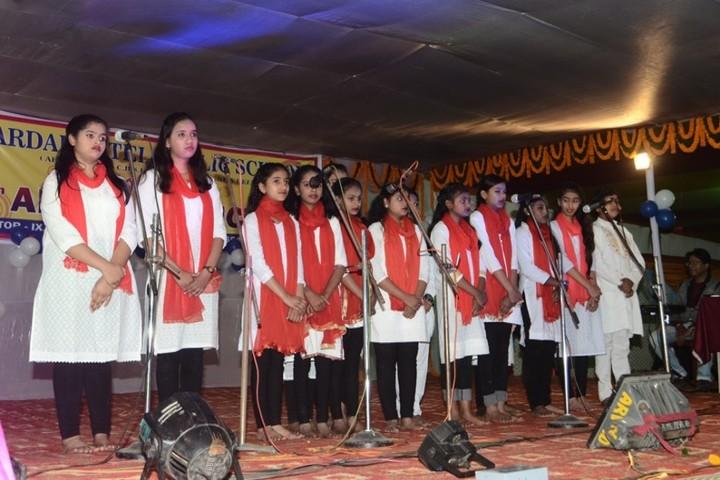 Sardar Patel Public School-Singing