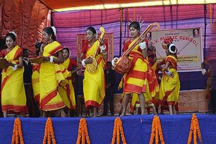 Savitri Devi D A V Public School-Dance
