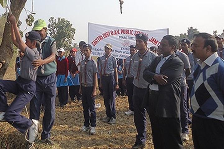 Savitri Devi D A V Public School-NCC Training