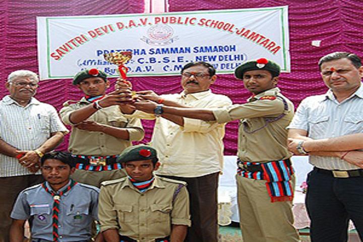Savitri Devi D A V Public School-NCC