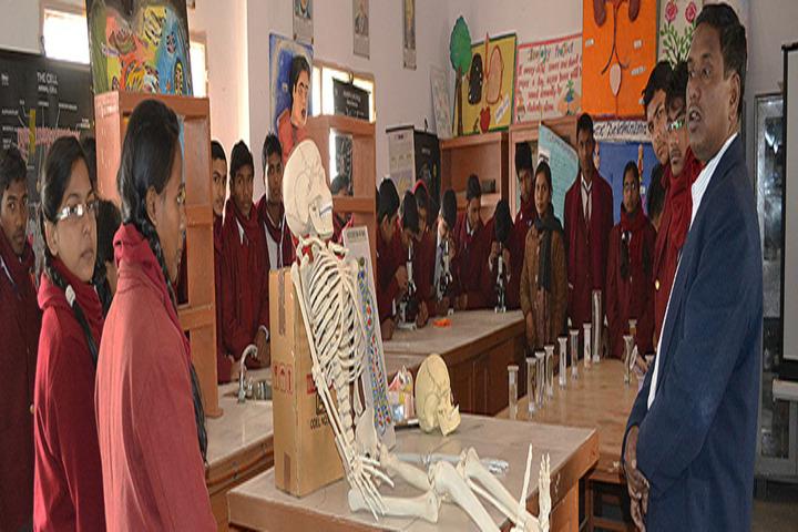 Savitri Devi D A V Public School-Science Lab